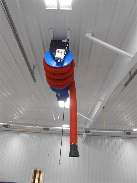 vehicle exhaust extraction systems