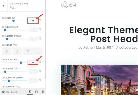 How To Style Divi's Single Post To Match The New Elegant