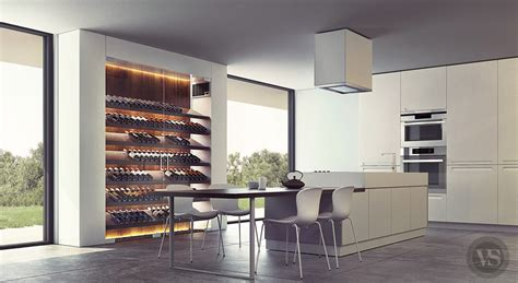 cave a vin de cuisine en cuisine