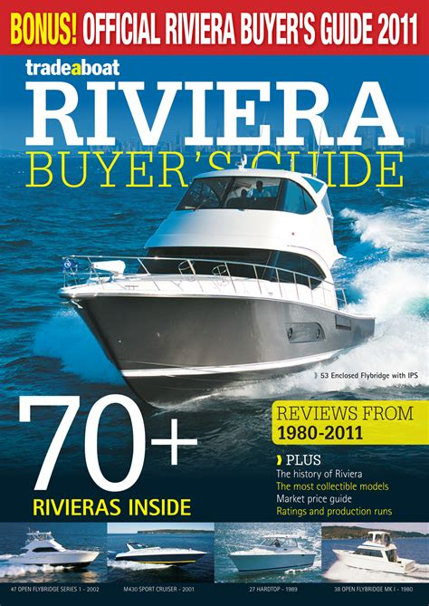 Riviera Buyer's Guide — Yacht Charter & Superyacht News