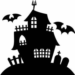 Silhouette Design Store - View Design #21365: haunted house
