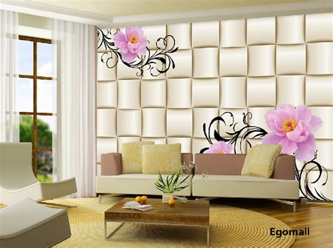 simple modern  wallpaper  living room bedroom tv