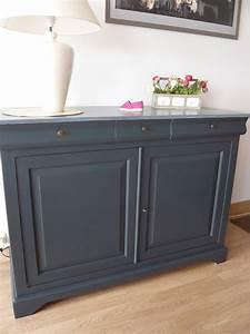 Meuble Repeint En Gris Perle : peinture meuble effet vieilli gris peindre un en ~ Dailycaller-alerts.com Idées de Décoration