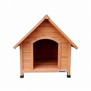 Cabane Pour Chat Exterieur Pas Cher : niche pour chien en bois lifland large plantes et jardins ~ Farleysfitness.com Idées de Décoration