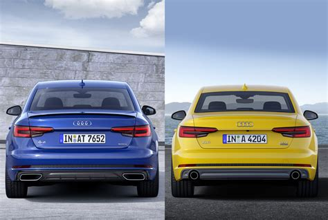Audi A4 B9 Minifacelift Für Das Modelljahr 2019