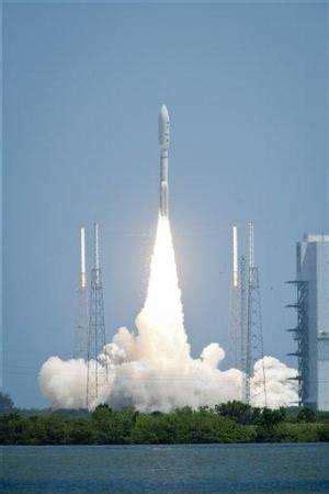 NASA launches spacecraft on 5-year trip to Jupiter