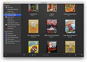 Play Classic Video Games In Style With OpenEmu For Mac