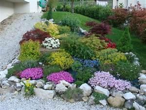 beautiful massif rocaille jardin photos design trends With jardin de rocaille photos 0 decoration jardin rocaille