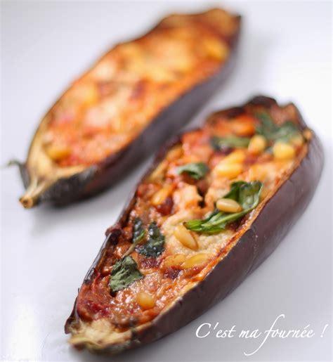 cuisiner les aubergines facile recettes aubergines farcies faciles