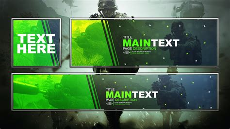 Banner Template Call Of Duty Infinite Warfare by Modern Warfare Remastered Social Media Rev By