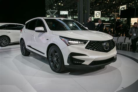 acura rdx receives   spec variant automobile