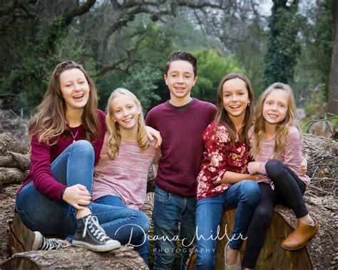 Sacramento Family Winter Portraits - Diana Miller Photography