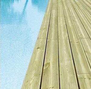 Lame De Terrasse Composite Longueur 4m : lames de terrasse 4800x145x27 mm en pin classe 4 idea bois nicolas ~ Melissatoandfro.com Idées de Décoration