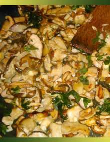 cuisiner coulemelle jcmp recette poêlée de cèpes à la persillade je cuisine