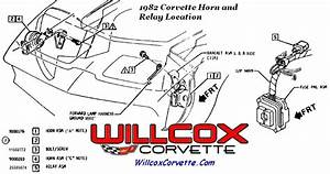 1981 Corvette Horn Relay Location