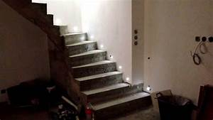 eclairage led escalier youtube With eclairage led escalier interieur