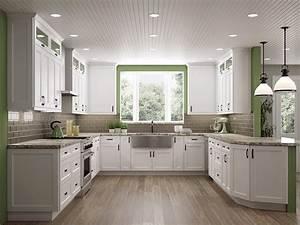 White, Shaker, Cabinets, The, Hottest, Kitchen, Design, Trend