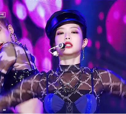 Jennie Blackpink Stage Inkigayo Kim Crown Triple