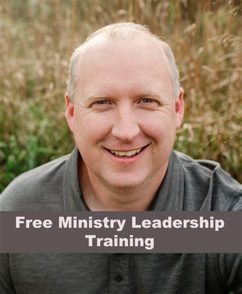 ministry leadership training  higher education