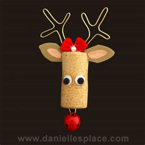 christmas cork idea images crafts for
