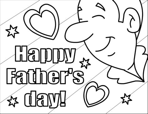 Free Printable Happy Fathers Day Coloring Pages