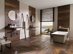 Dalle Adhesive Salle De Bain : 10 id es pour d corer sa salle de bains du sol au plafond ~ Premium-room.com Idées de Décoration