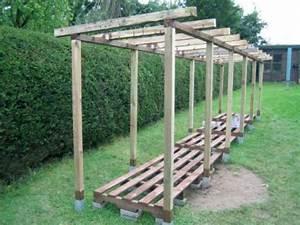 Holzunterstand Selber Bauen : brennholzlager bauen 2018 ~ Whattoseeinmadrid.com Haus und Dekorationen