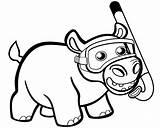 Printable Hipopotam Hipopotamo Hipopótamo Hippopotamus Ponys Regenbogen Kolorowanka Onlinecoloringpages ארכיון הראשון שלי דפי ה�ית צ�יעה דף Drukuj sketch template