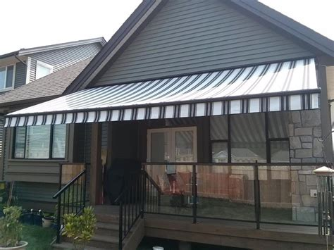 awnings primeline aluminum patio cover awning