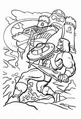 Coloring Printable Masters Universe Bestcoloringpagesforkids Colouring Drawing Sheets She Ra Evil James Eatock Comic sketch template