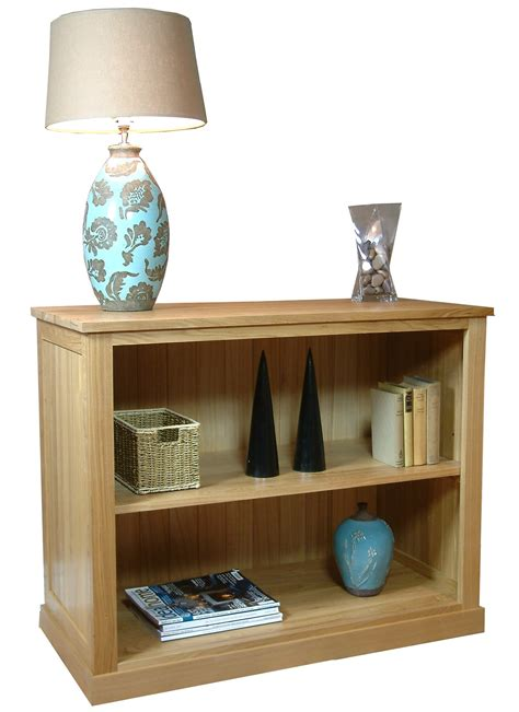 Low Bookcases by Mobel Oak Low Bookcase