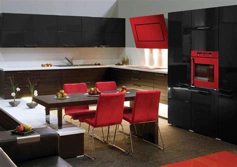 la cuisine voit rouge avec baumatic inspiration cuisine