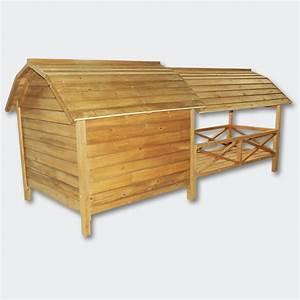 Hundehütte Mit Terrasse : wiltec hundeh tte hundehaus h tte xxl hundeh tte hundehaus massiv holz mit balkon terasse ~ Watch28wear.com Haus und Dekorationen