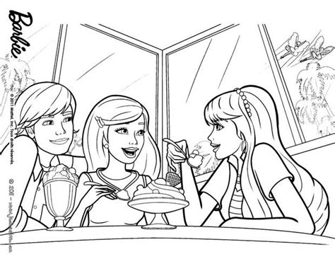 coloriages raquelle  barbie  colorier en ligne fr
