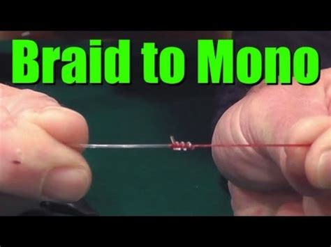 tie braided fishing   monofilament