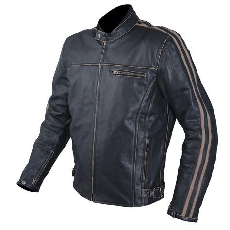 motorcycle style leather jacket motorcycle jacket leather vintage style ce protectors