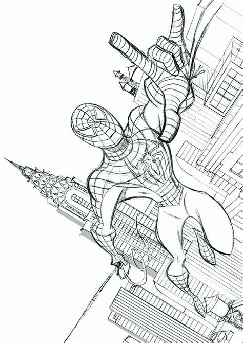 spiderman en accion hd dibujoswikicom