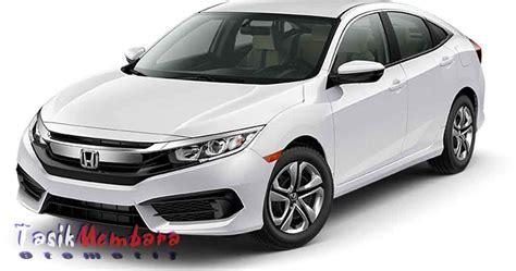 daftar harga mobil honda  tipe terbaru  info