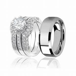 Awesome Men And Women Matching Wedding Bands