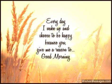 good morning messages  wife quotes  wishes