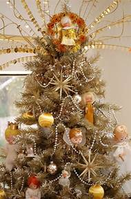 floral christmas tree toppers - Homemade Christmas Tree Topper Ideas