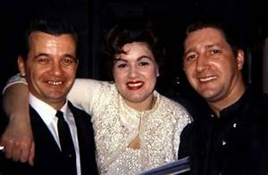 Patsy Cline, with husband Charlie Dick on the right ...