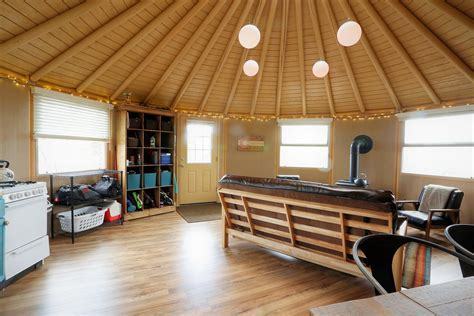 Freedom Yurt Cabin   14 Wall   Small Homes for Sale