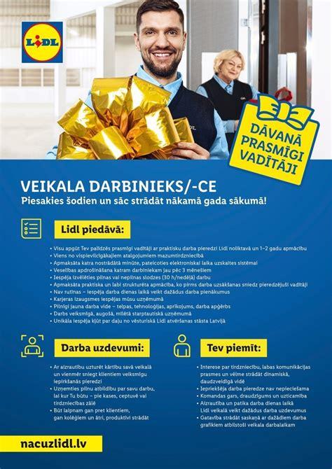 Darba piedāvājumi - Darbs - CV Market vakance Veikala ...