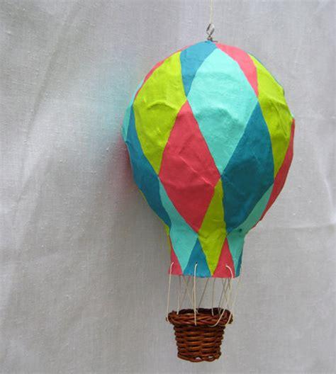 papier mache hot air balloons  atbekkapalmer  minted