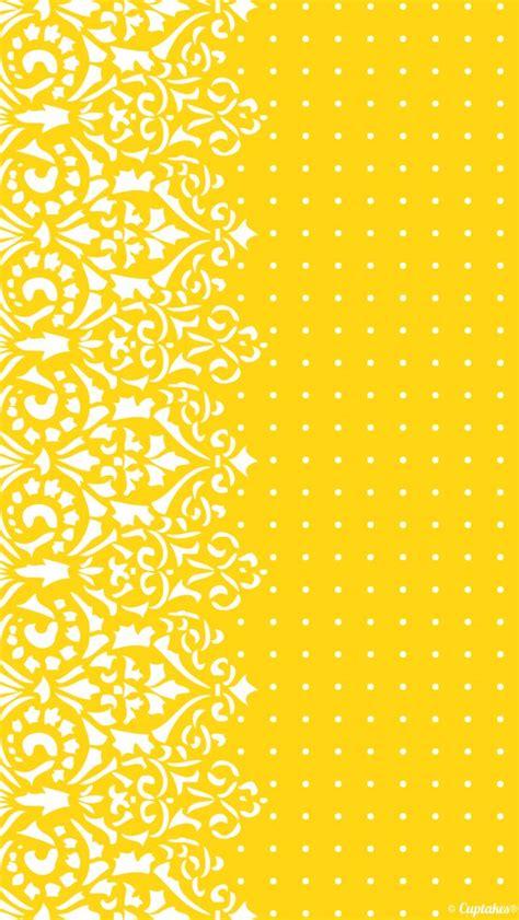 yellow pattern polka iphone dot dots wallpapers sfondo giallo aesthetic wallpapersafari elephant vettoriale code