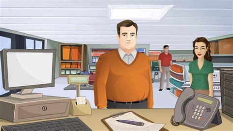 help desk customer service hr avatar simulation authoring tool