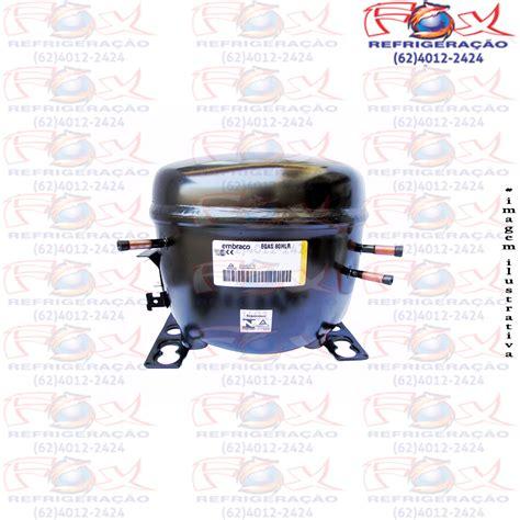 compressor embraco 1 4 220v r 134 egas 80hlr hlp