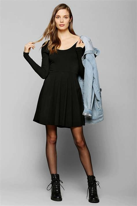 Long Sleeve Skater Dress | Dressed Up Girl
