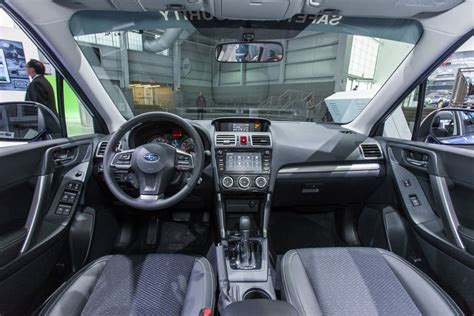 2016 subaru forester interior 2016 subaru forester review and information united cars